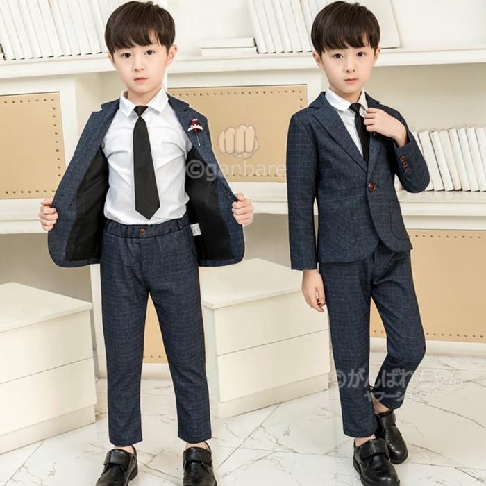 bb1a3e08d461f ネクタイおまけ 入学式 スーツ 男の子 スーツ 男の子 子供服 フォーマル ...