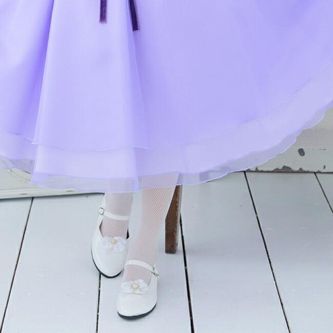 子供ドレスレンタル  靴セット 女の子用フォーマルドレス 日本製  113-LV ラベンダー 女児 120 130 140 150 キッズ 結婚式 七五三 発表会 コンクール|rentaldress-kids|06