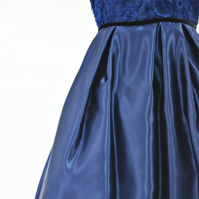 子供ドレスレンタル  靴セット 女の子用フォーマルドレス 日本製 tgl002 ネイビー 女の子 130 140 150 160サイズ キッズ 結婚式 七五三 写真撮|rentaldress-kids|07