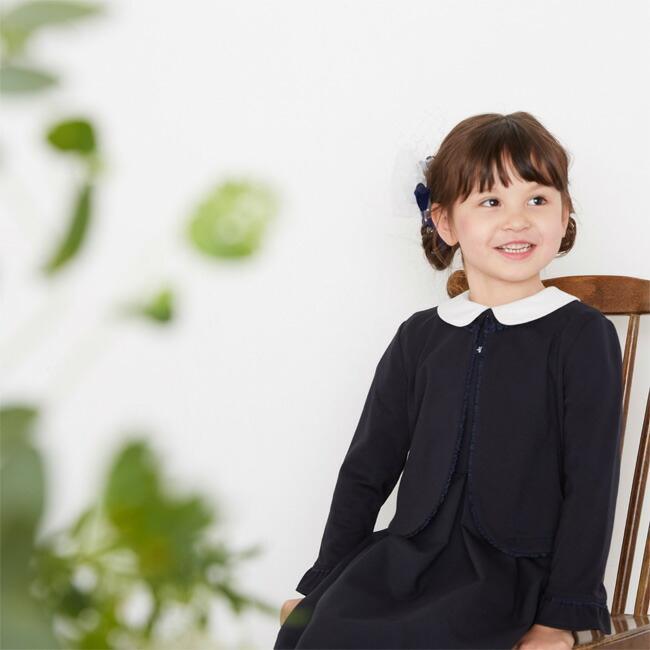 フォーマル子供服  靴セット ファミリア familiar 女の子フォーマルアンサンブルセット fa001 紺ボレロ 半袖ワンピース 女児 120サイズ キッズ|rentaldress-kids|13