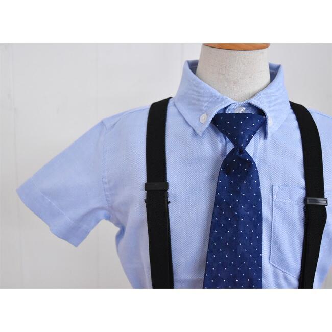 こども服男の子用フォーマルセット 子供スーツ 選べる半袖長袖シャツ  靴セット 男の子フォーマルシャツパンツセット サスペンダー付き dwby009 男の子 結婚式|rentaldress-kids|08