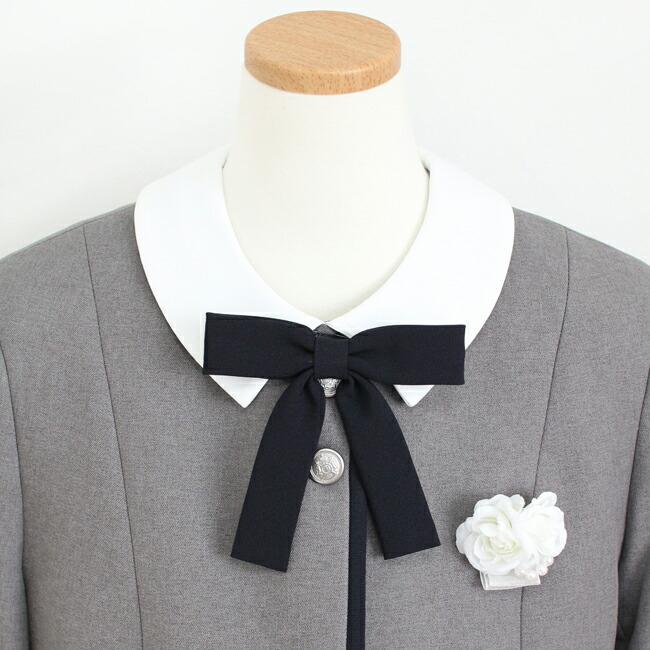 フォーマル子供服  靴セット グレー パイピングボレロ 半袖襟付きワンピース agl038  165 女の子 卒業式 入学式 結婚式 お受験|rentaldress-kids|05