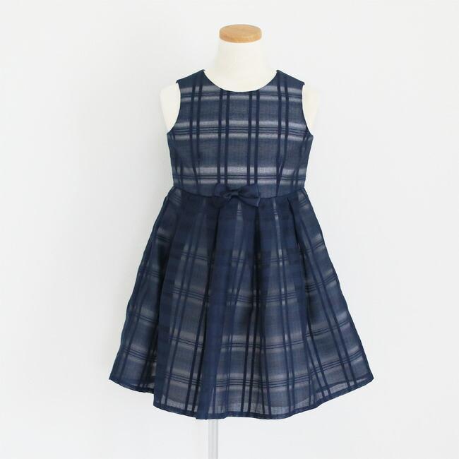 入学式 スーツ 女の子 3泊4日 靴なし 子供服 ELLEチュールアンサンブルセット 紺ワンピース agl029 女児 120 キッズ|rentaldress-kids|05