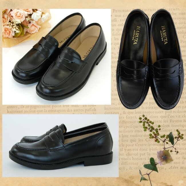 スーツと同時レンタルなら送料お得に!  子供用フォーマル靴レンタル 男女兼用キッズ ジュニア フォーマルシューズ ローファー 黒 rensh01 rentaldress-kids 05