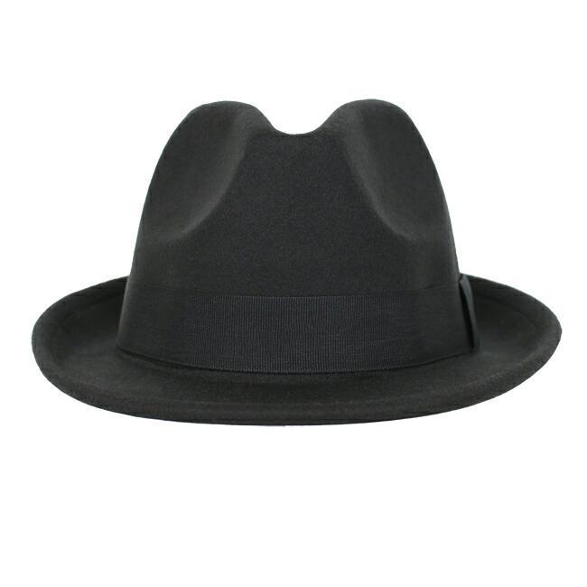 スーツと同時レンタルなら送料お得に!renac034 フェルト素材中折れハット ダークブラウン ワインレッド ブラック 和装におすすめ 七五三  結婚式 ハット 帽子|rentaldress-kids|14