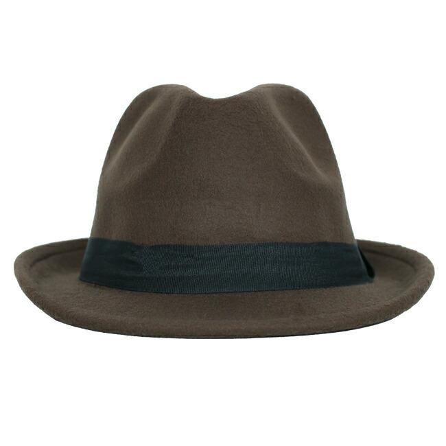 スーツと同時レンタルなら送料お得に!renac034 フェルト素材中折れハット ダークブラウン ワインレッド ブラック 和装におすすめ 七五三  結婚式 ハット 帽子|rentaldress-kids|04