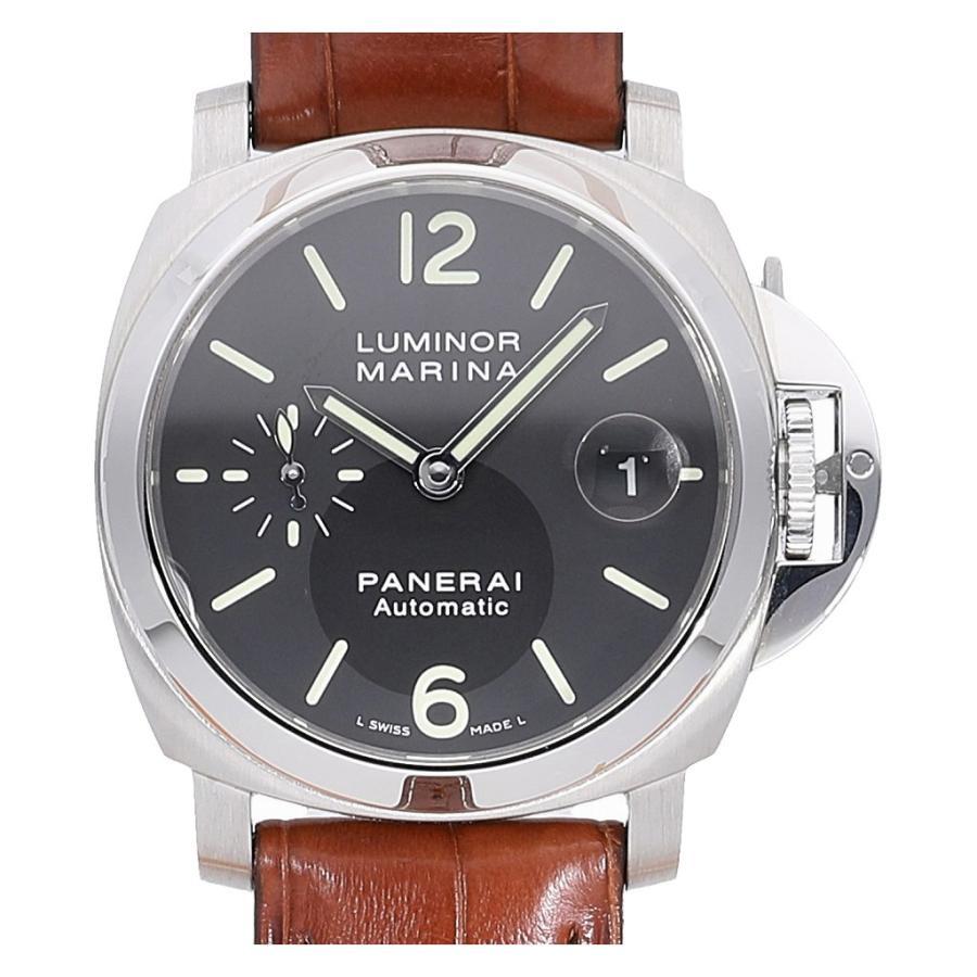即納!最大半額! パネライ ルミノールマリーナ 40mm オートマティック PAM00048 K番  メンズ(男性用) 送料無料 腕時計, エムアール企画 edb0331f