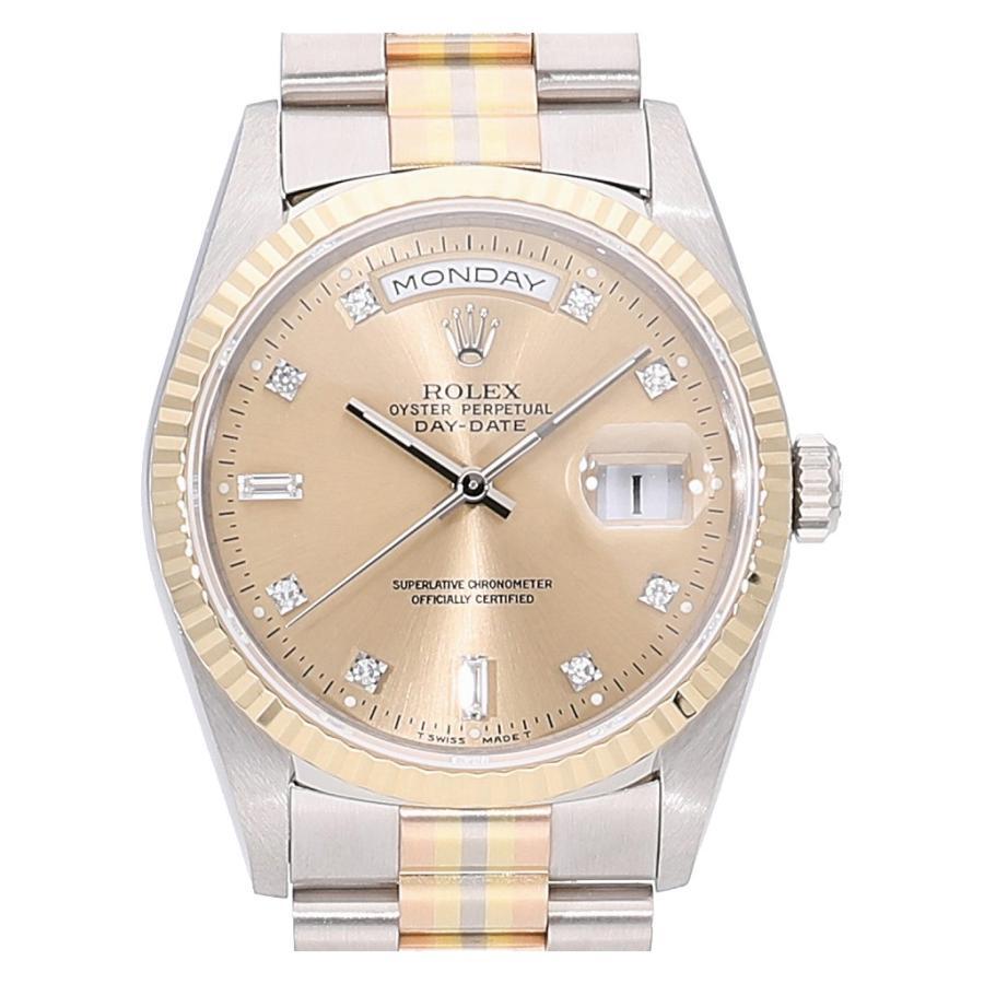 新しい季節 ロレックス デイデイト トリドール 10Pダイヤモンド 18239A BIC  メンズ(男性用) 送料無料 腕時計, あやの小路 3a6526a7