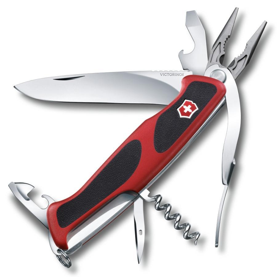 ビクトリノックス アーミーナイフ レンジャーグリップ 74 | Victorinox ツールナイフ マルチツール 十徳ナイフ キャンピングナイフ