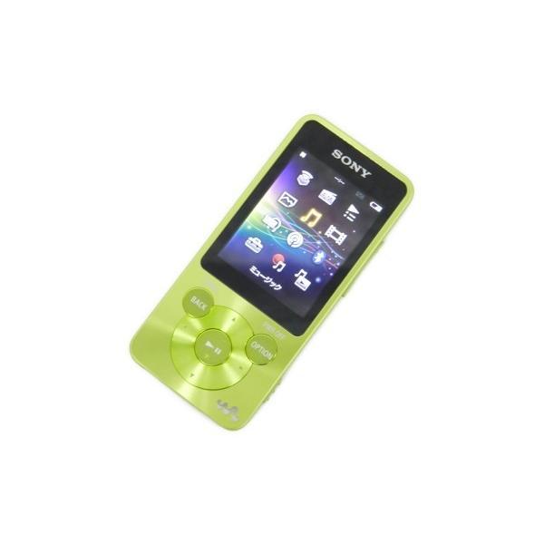 【中古】 SONY NW-S784K 8GB WALKMAN ウォークマン スピーカー付属 グリーン F2449582