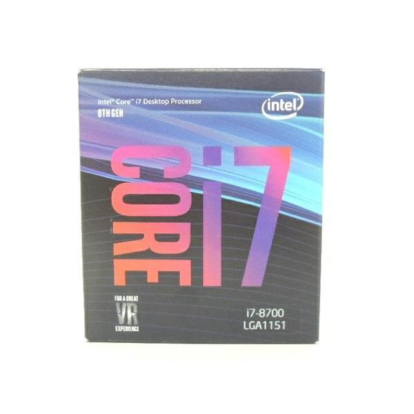 未使用 【中古】 未使用 CPU intel corei7 Desktop Processer 8TH GEN F3190090