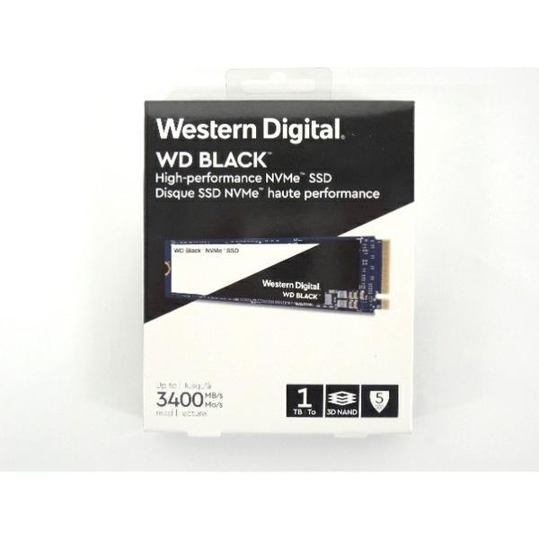 未使用 【中古】 未使用 SSD メモリ Western Digital WD 黒 1TB F3190091