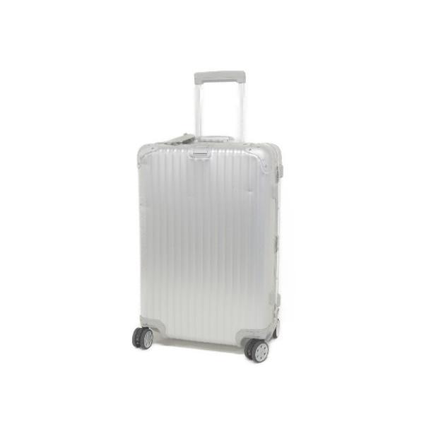 【中古】 RIMOWA リモワ トパーズ TOPAS 4輪 63L スーツケース 93263 TSA ロック キャリーバッグ SILVER F3288365