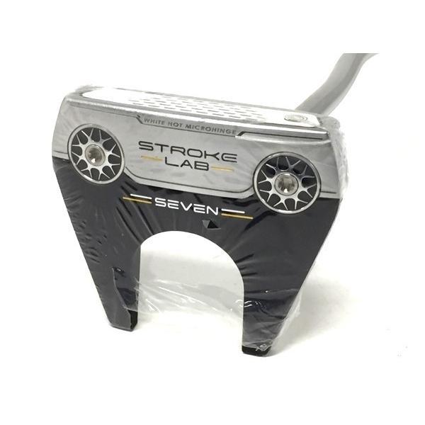 未使用 【中古】 ODYSSEY オデッセイ STROKE LAB seven 34 JV パター ゴルフ 未使用 F4172179