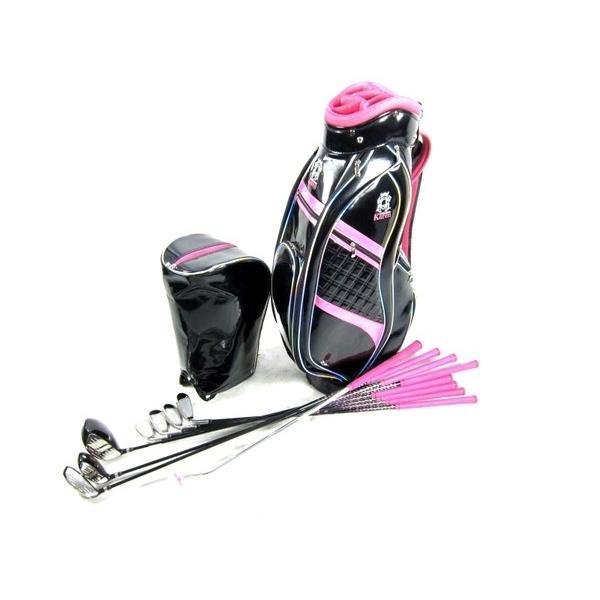 【中古】 中古 Karen カレン KRCS-2703 レディース ゴルフセット キャディバッグ クラブ 8本 K2441385