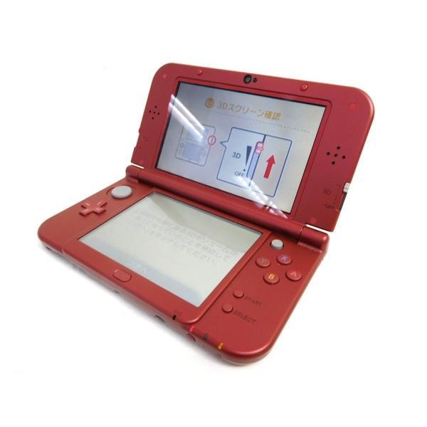 【中古】 任天堂 New ニンテンドー 3DS LL 赤-001 ゲーム 本体 M2581659