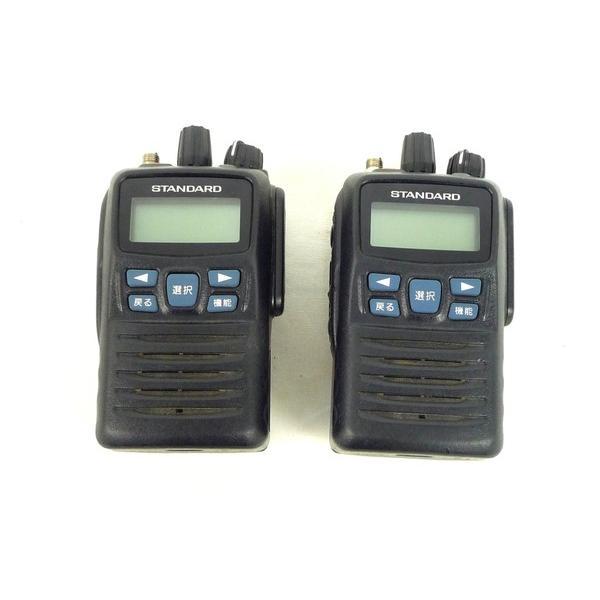 【中古】 STANDARD ハイパワーデジタル簡易無線機 VXD450R 2個 充電器付き 中古 M4112892