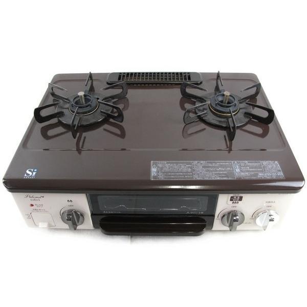 中古 中古 中古 パロマ LPガス用 ガスコンロ IC-33BB-R グリル付き 2014年製 N2360964 e06