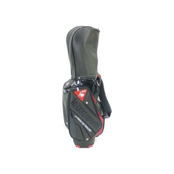 未使用 【中古】 Le coq sportif Golf ルコック キャディバッグ QQBLJJ00 ゴルフ N3193776
