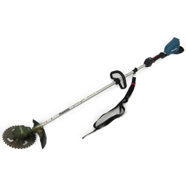 【中古】 マキタ MUR366D 充電式草刈機 バッテリー2個付き N3586942