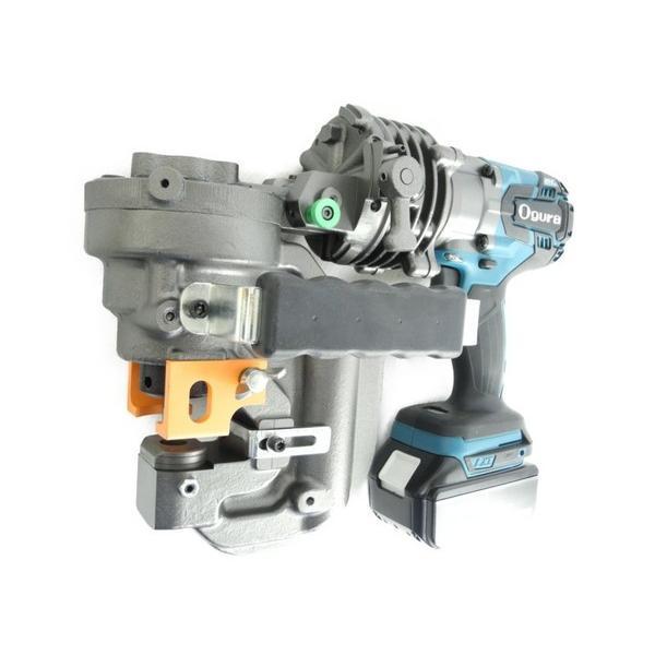 未使用 【中古】 Ogura HPC-NF209WBL 可倒式 コードレス パンチャー 電動 工具 オグラ 替え刃 付き N3995867