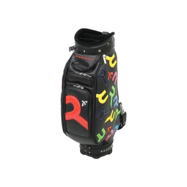 【中古】 良好 RODDIO ロッディオ 9.5型 プレミアムキャディバッグ ゴルフ用品 N4030596
