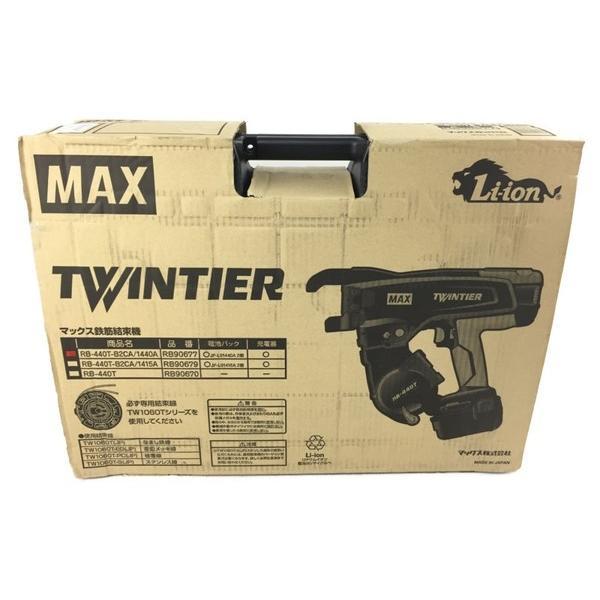 未使用 【中古】 未使用 マックス MAX リバータイア RB-440T-B2CA / 1440A 電動工具 鉄筋結束機 N4297443