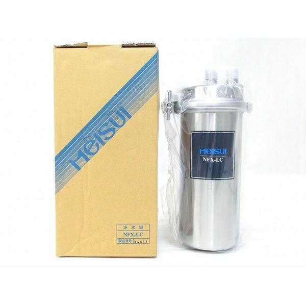 未使用 【中古】 未使用 Meisui メイスイ NFX-LC 業務用 浄水器 浄軟水器 人気 O2533457