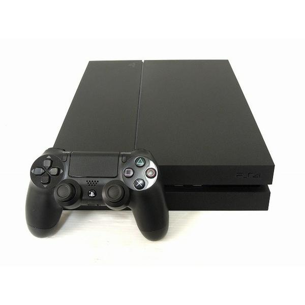 【中古】 中古 SONY CUH-1000A 500GB PS4 ジェットブラック 据え置き型ゲーム機 O2556069
