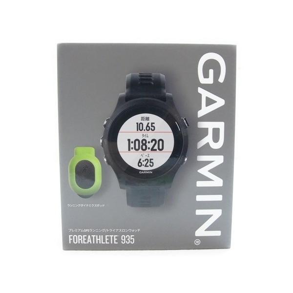 未使用 【中古】 未使用 Garmin ForeAthlete Forerunner 935 GPS トライアスロン ウォッチ S2591714