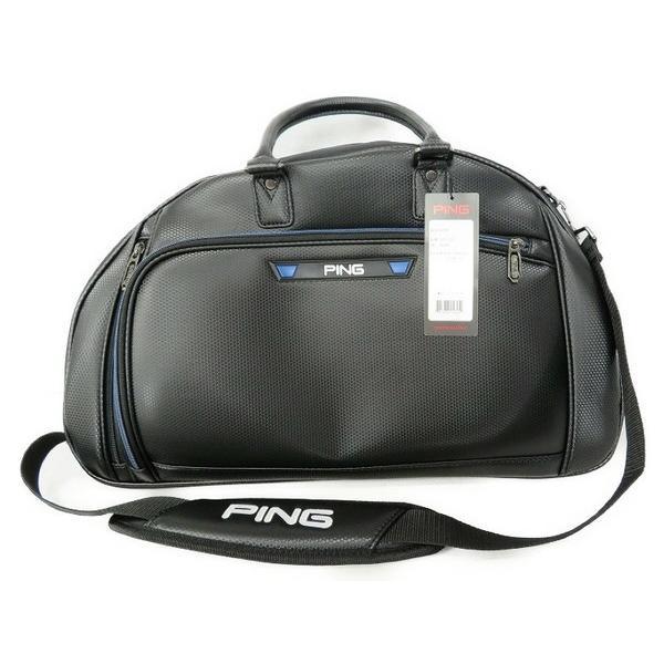 未使用 【中古】 未使用 ピン PING PGJ-BB16 2WAYボストンバッグ ブラック ゴルフ S3552565