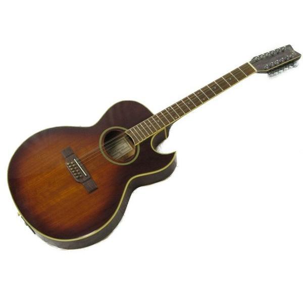 【中古】 Washburn ワッシュバーン EA20M-12TS 12弦 エレアコ ギター ソフトケース付き 弦楽器 演奏 バンド S3619373