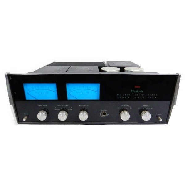 【中古】 中古 Mcintosh MC2505 ステレオ パワー アンプ 音響 S3736466