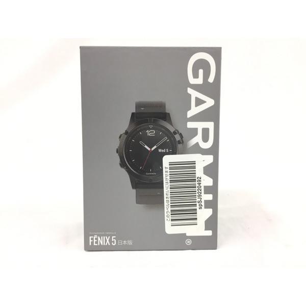 未使用 【中古】 新品 GARMIN ガーミン fenix 5 フェニックス GPS 心拍数 レジャー 腕時計 T3267709