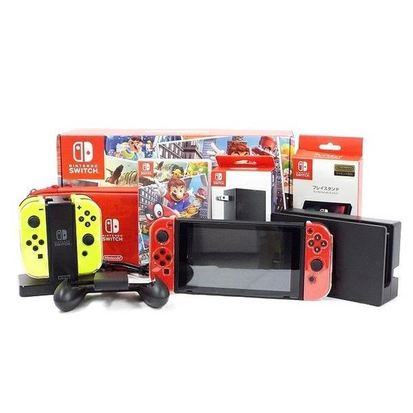 【中古】 Nintendo Switch スーパーマリオ オデッセイ セット HAC-S-KADEE T3369038