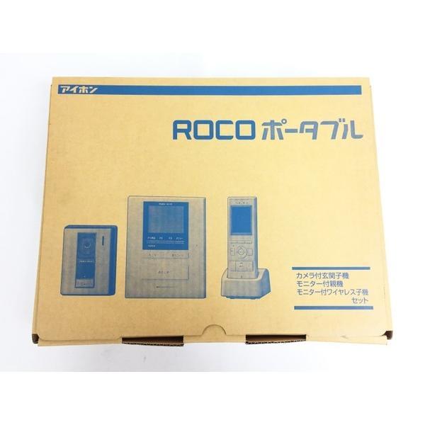 未使用 【中古】アイホン ROCO ポータブル WM-14A テレビドアホン ワイヤレスセット 1・4タイプ T3548601