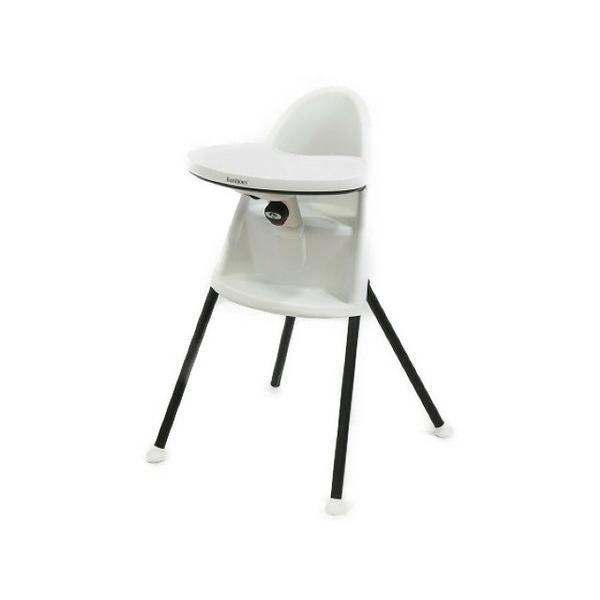 【中古】 BabyBjorn ベビービョルン ハイチェア ベビーチェア イス 椅子 テーブル付 ホワイト T3759455