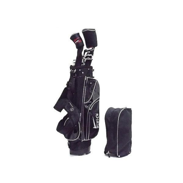 【中古】 WORLD EAGLE F-01 α ゴルフクラブ 10本セット キャディバッグ付き T4145105