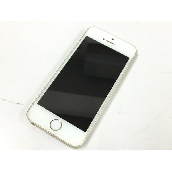 【中古】 中古 Apple アップル iPhone SE MLXP2J/A au 64GB 4.0型 ゴールド スマートフォン  T4315506 rere-store
