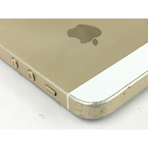 【中古】 中古 Apple アップル iPhone SE MLXP2J/A au 64GB 4.0型 ゴールド スマートフォン  T4315506 rere-store 05