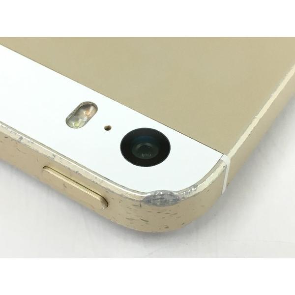 【中古】 中古 Apple アップル iPhone SE MLXP2J/A au 64GB 4.0型 ゴールド スマートフォン  T4315506 rere-store 06