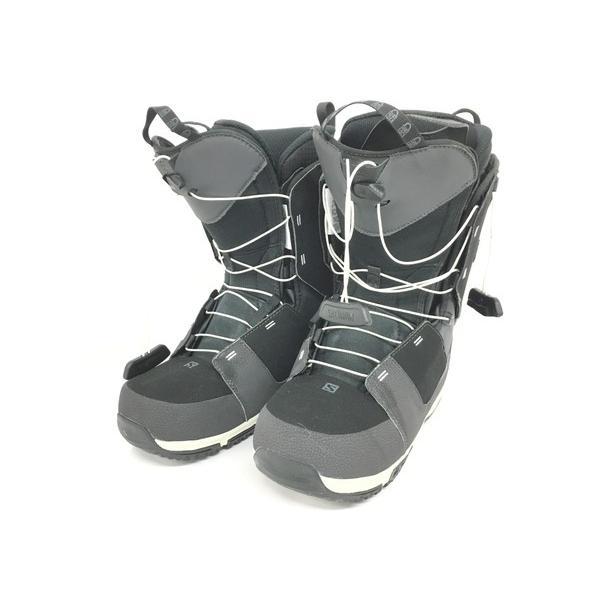 【中古】 SALOMON DIALOGUE WIDE スノーボード ブーツ 362422 28cm T4411815