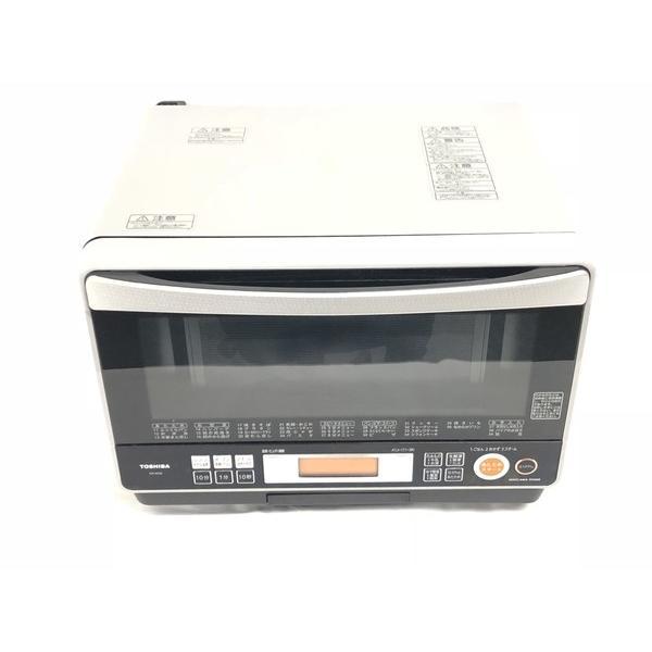 【中古】 TOSHIBA 東芝 石窯ドーム ER-KD8(H) 電子 オーブンレンジ 26L ライトグレー キッチン家電 中古 W3412185