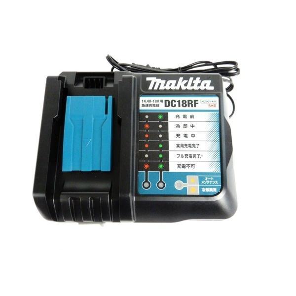 美品 【中古】 makita マキタ DC18RF 急速 充電器 BL1860B 6.0Ah 18V バッテリ 2個 セット Y3361627