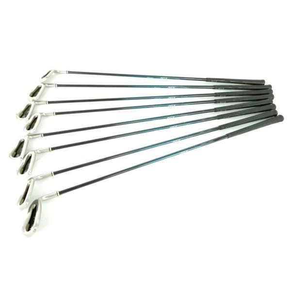 【中古】 XXIO IMPACT POWER MATCHING アイアン 4代目 2006年 モデル 5-9,A,P,S 8本 ゴルフ クラブ Y3468642