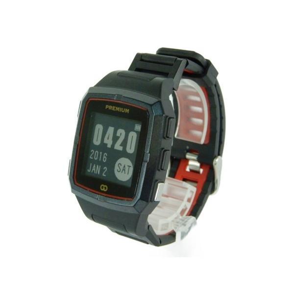 【中古】 緑on G011 THE GOLF WATCH Premium ゴルフ GPS ナビ 機器 Y3577654