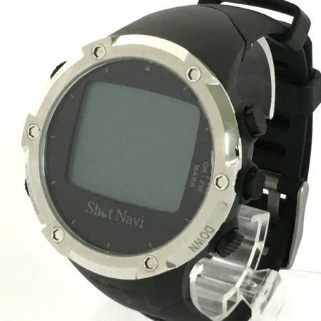【中古】 ShotNavi ショットナビ W1-FW ゴルフ GPS ナビ 腕時計型 Y3843331