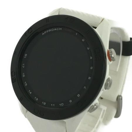 【中古】 GARMIN ガーミン APPROACH アプローチ S60 GPS 腕時計型 3測位対応 アシスト GPS ゴルフ ウォッチ 機器 Y3855149