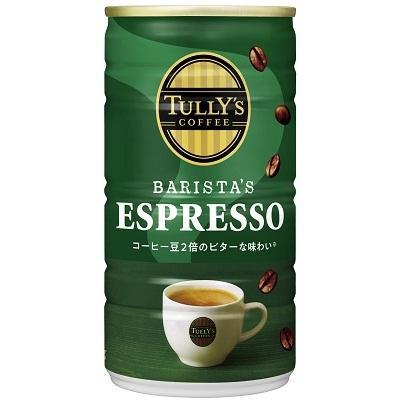 伊藤園 タリーズコーヒー エスプレッソ TULLY'S COFFEE BARISTA'S ESPRESSO 缶 180g 30本入1ケース|reset