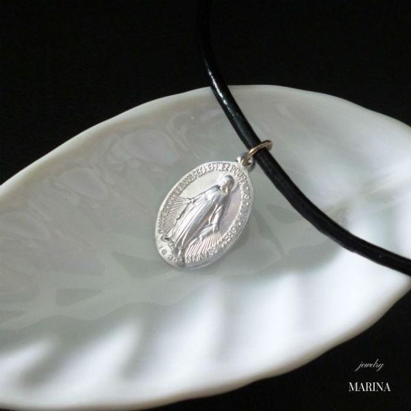 フランス奇跡のメダイのネックレス - silver resortiara
